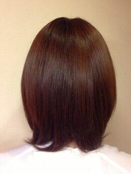 ヘアメイク タラップ(hair make trap)の写真/大人女性の悩みに寄り添いご提案!髪質、状態に合わせた薬剤や色味選択で若々しい印象に☆初めての方にも◎