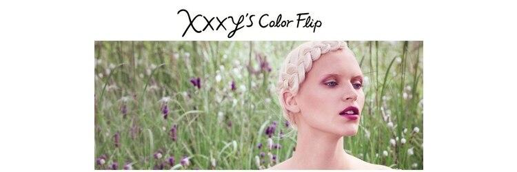 サイズカラーフリップ コレットマーレ店(XXXY'S COLO FLIP)のサロンヘッダー