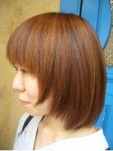ユナイテッドヘアーザルチャリブレ(UNITED HAIR THE LUCHA LIBRE)3Dカラーボブ