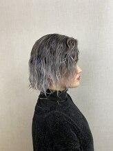 ヘアメイクサロン ブーム ヘアデザイン(boom hair design)ポイントブリーチandカラー