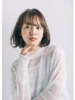 ピークアブー アヴェダ GINZA SIX(PEEK-A-BOO AVEDA)【New(3月)】シースルーバング×ボブ