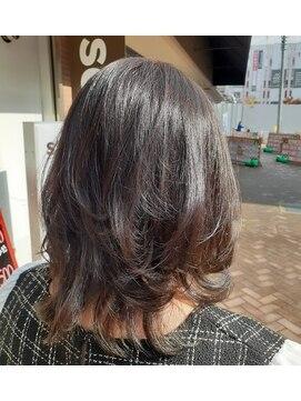 ソイル ヘアー(soil hair)ラベンダーアッシュ
