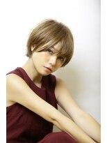 【morio池袋】前髪長めマッシュショート