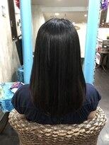 カイナル 関内店(hair design kainalu by kahuna)指通りのいいドライヴカット