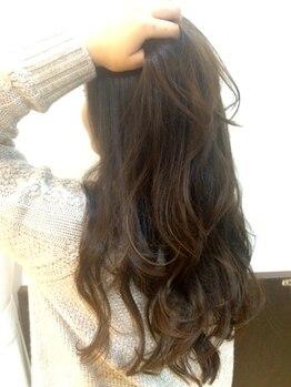 シックヴォイス(Chic Voice)の写真/【カット+カラー+オージュアTR¥13200】アナタのなりたい理想の髪色・透明感のある憧れStyleが手に入る◎