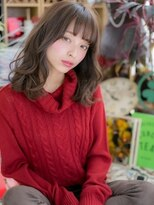 ■bliss戸田公園9-21★■くせ毛風♪アシンメトリーセミディ