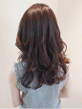 ブランシュ 中島店(Hair&Esthe Blanche)の写真/【中島/女性専用サロン】厳選薬剤×透明感カラーでもっと素敵に。1番似合うを見つける《カラー診断》あり◆
