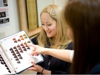 イノブランディングイノベーション(INO branding by innovation)の写真/一人一人に寄り添う丁寧なカウンセリングと提案力で自分らしいスタイルに♪通えば通うほどキレイな髪に◎