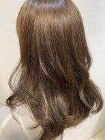 ネオヘアー 東向島店(NEO Hair)カーキベージュカラー