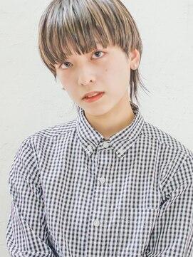 アオ 表参道(AO)【AO】ハイライト3Dマッシュウルフ
