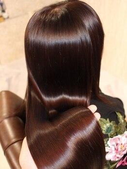 エデン トリートメントサロン 難波店(EDEN)の写真/ダメージなど髪のお悩みを諦めていた方へおすすめ◆熟練スタイリストがあなたの理想の美髪へ導きます☆