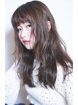 ヘアーメイク ビロー 丸亀店(Hair Make Billow)外国人風ダークグレージュ×毛先だけパーマ