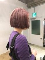 チクロヘアー(Ticro hair)ticro大石ハイトーンピンクラベンダー
