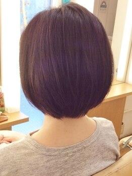 アンゼミールの写真/ご自宅での再現性の高いヘアスタイルをご提案。一人ひとりの髪質や骨格を見極めてカットしていきます。