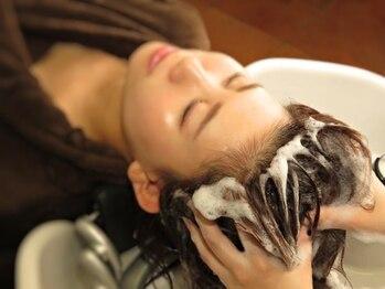 ルミエールヘアー(Lumiere Hair)の写真/姫路で唯一【Rolandスパ&ノンダメージサロン(R)認定店】オーガニック超高機能SPAで地肌も髪も健康的に◎