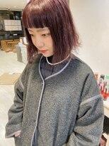 ネオヘアー 東向島店(NEO Hair)きりっぱなしボブ×ピンクカラー