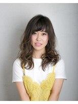ムード 金沢文庫 hairdesign&clinic mu;dベージュカラー×モテウェーブ