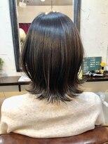 エトネ ヘアーサロン 仙台駅前(eTONe hair salon)20代.30代.前上がり 丸み大人ボブ
