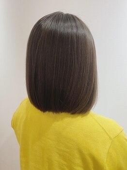 カーム( Calm)の写真/髪と貴方に寄り添う施術が大好評。落ち着ける空間で豊潤ケア。手触りが変わり毎日触れたくなる美髪に...♪