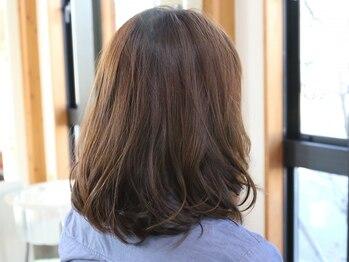 オーガニックサロン ナチュラル(OrganicSalon natural)の写真/ICEA認証オーガニックカラー【ヴィラロドラ】取扱い!!ダメージを最小限にナチュラルに艶めく上質な美髪に♪