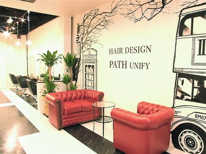 ヘアーデザイン パス ユニフィ(HAIR DESIGN PATH UNIFY)の写真
