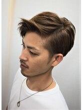 ビス オム(Men's Salon Bis! HOMME)【Bis! HOMME】大人パールグレージュ 担当:内村