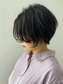 シュルール(chorule)の写真/カットに自信があるから似合わせポイントを熟知!カットは【前髪・襟足・もみあげ】のデザインで決まります!