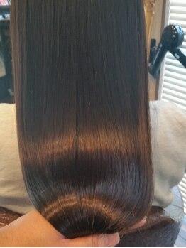 ソティラス(Hair Salon Sotiras)の写真/髪質や仕上がりの事を考えこだわりぬいた商材を使用 !!圧倒的な仕上がりの違いを実感してみて♪