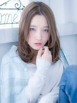 インシ(h&m insi)【insi】柔らかパーマミディ