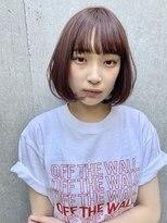 コクーン(Cocoon)【SHUN】ラズベリーピンクワンカールボブ