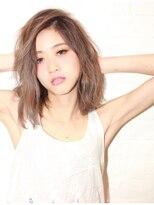 ヘアサロン エフ(HairSalon F)ナチュラルロブ×グレージュスタイル HairSalon F 渋谷