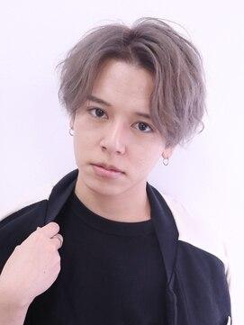 アルバム シンジュク(ALBUM SHINJUKU)ウェットスパイラルマッシュくせ毛風パーマコンマヘア_56491