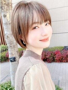 セイドット オモテサンドウ(Say. omotesando)の写真/【表参道駅徒歩5分】髪を切って1日で人生が変わる。再現性にこだわったカット術でキレイをサポート◎