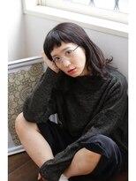 ヘアアンドメイク エジェリ(hair&make egerie)【egerie】外国人風こっくりロブ3