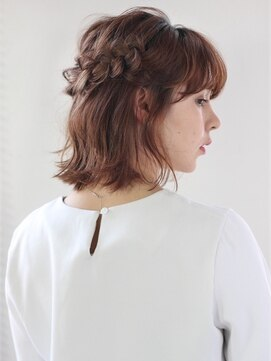 モッズヘア 仙台PARCO店(mod's hair)【mod's hair】ボブ / ハーフアップ / ヘアアレンジ