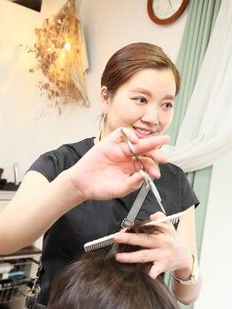 ヘアーリゾート アトリエ ソレイユ 相武台(Hair Resort Atelier SOLEIL)の写真/経験豊富なスタイリストがカウンセリング~仕上げまでマンツーマンでサポート☆お悩み相談もしやすい◎