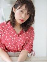 アグ ヘアー ドレス 喜久田店(Agu hair dress)軽やかに揺れ動く束感の似合わせミディ