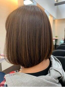 リスペクト(Respect)の写真/人気上昇中☆カラーによる枝毛、切れ毛などのダメージを94%削減!FIBRE PLEXカラー導入★