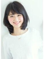 リル ヘアーデザイン(Rire hair design)【Rire-リル銀座-】ワンカール☆ひし形ミディ
