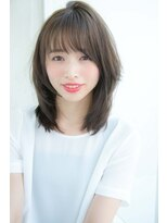 アンアミ オモテサンドウ(Un ami omotesando)【Un ami】 大人かわいい 小顔ミディアム 松井幸裕