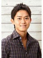 メンズウィル バイ スヴェンソン 札幌スタジオ(MEN'S WILL by SVENSON)前髪をかき上げるショートレイヤースタイルで爽やかさアピール!