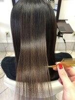 コレットヘア(Colette hair)リタッチ縮毛矯正×髪質改善Aujuaトリートメント
