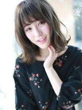 アグ ヘアー ステラ 長崎店(Agu hair stella)伸ばしかけ☆小顔ふわミディ