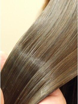 アブティール 船橋店(Aboutir)の写真/髪のツヤ・コシは頭皮美容【高濃度炭酸泉×KERASTASE】で叶えましょう♪人気ブランド取扱いサロン★