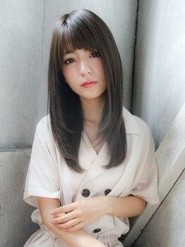 フィロティモ バイ ニューヨークニューヨーク(Philotimo by NYNY)の写真/思わず見惚れる洗いざらしのようなナチュラルストレートへ。まっすぐになり過ぎないサラサラ美髪が叶う。