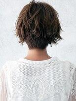 30代40代50代透明感のある明るめ白髪染めでおしゃれ染め風美髪