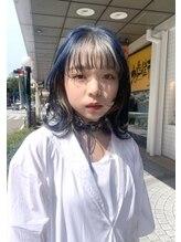 エイトヘアー(8 HAIR)ブルー×インナー