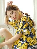 ガレットウメダ(GALETTE UMEDA)#夏のヘアアレンジ#編みおろしアレンジ#ガレット梅田