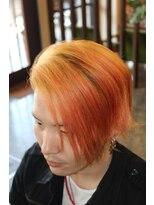 ディスパッチヘアー 甲子園店(DISPATCH HAIR)トロピカルカラー2ブロック