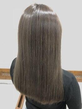 ヘアーサロン ライズハート(Rise Heart)の写真/【NEW!髪質改善縮毛矯正】縮毛矯正=髪が傷む…という概念から脱却し、地毛のようなストレートに!